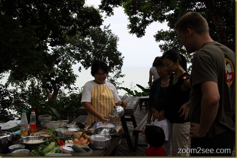 Cooking class conducted by Nazlina Hussin at Tropical Spice Garden