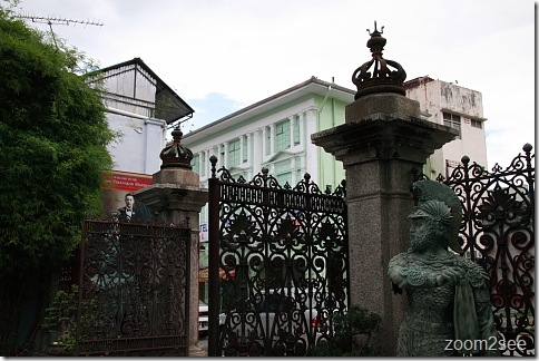 The Pinang Peranakan Mansion at Church Street, Penang