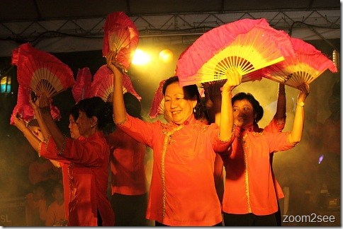 Fan Dance at Esplanade
