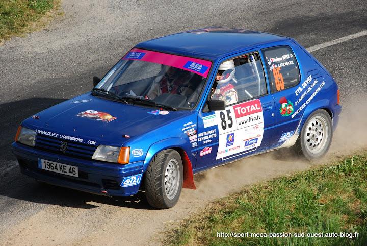 Stéphane DEVEZ / Rémi LAMOUROUX - 205 Rallye FA5 Rallye%20du%20Rouergue%202009%20357