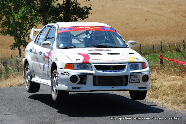 Gérard PUEL / Caroline PUEL - Lancer Evo6 N4 Rallye%20du%20Rouergue%202009%20792