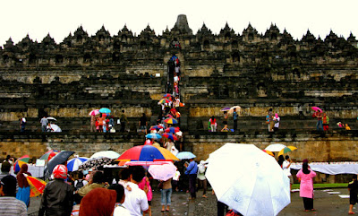 Temple of Borobudur in Yogjakarta Indonesia