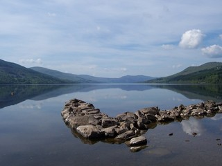 Loch Tay, from the road along the north side.