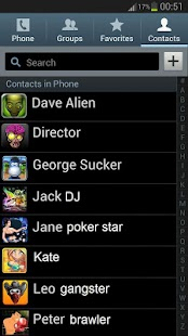 Icon pack for phone contacts - screenshot
