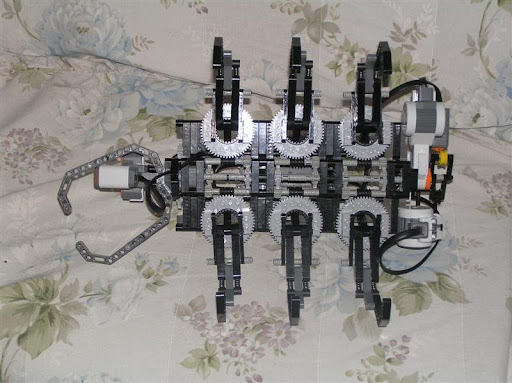 NXT Hexapod Ant Bottom