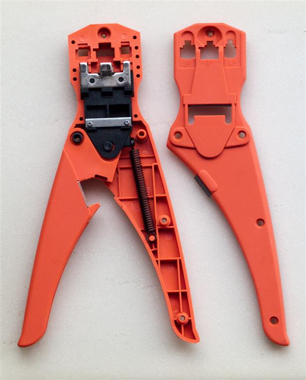 NXT Modular Plug Crimp Crimping Tool Modifications