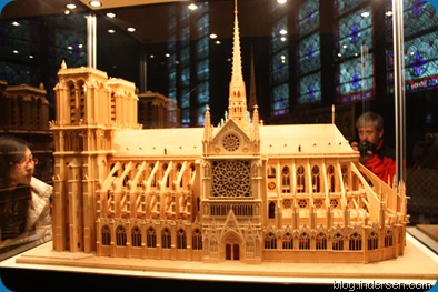 The Miniature version of the Cathedral