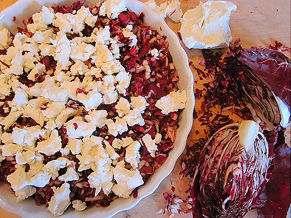Radicchio & Goat Cheese