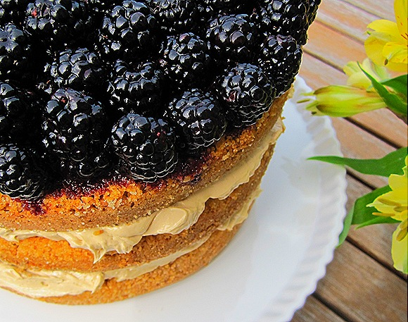 Blackberry - Brown Sugar Cake