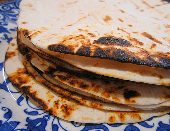 Toasted Flour Tortillas