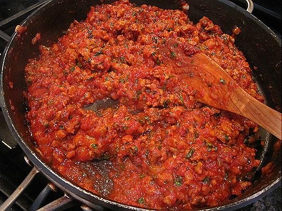 Tomato Sauce with Italian Sausage