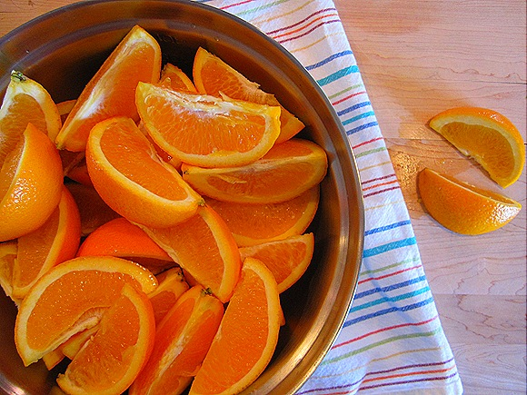 Sliced Oranges