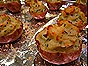 Twice-Baked Red-Skinned Potatoes with Chives