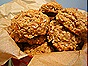 Oatmeal Cookies with Apricot, Coconut & Walnuts
