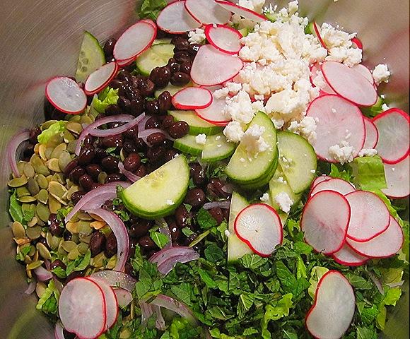 Pre-Tossed Salad