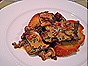 Sauteed Sweetbread swith Pancetta, Wild Mushrooms & Cream