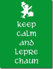 Keep Calm Lepechaun
