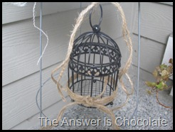 No Soliciting Birdcage