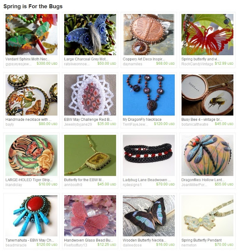Etsy Picks: Spring is for the Bugs