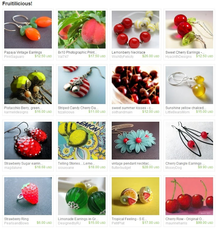 Etsy Picks: Fruitlicious