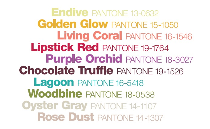 Pantone's Fall 2010 Color Report