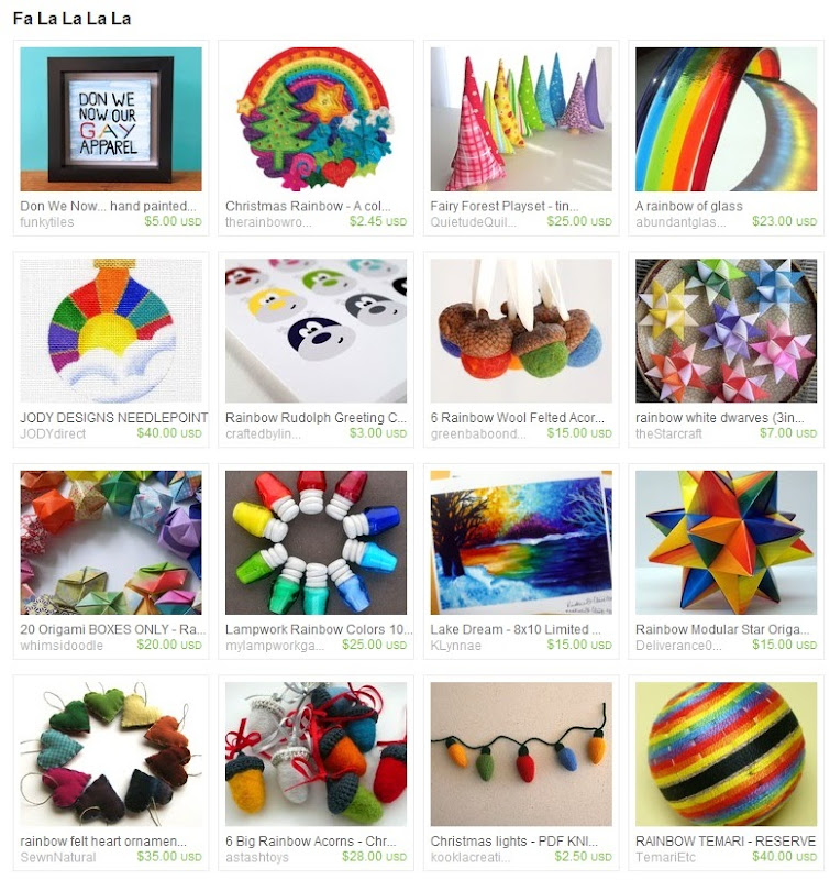 Fa La La La La Rainbow Christmas Treasury