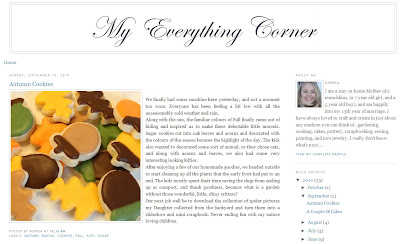 My Everything Corner Blog
