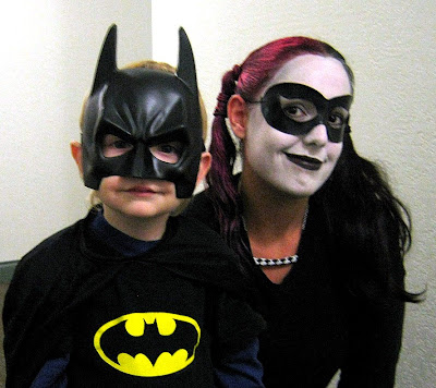 Batman and Harley Quinn October 2010