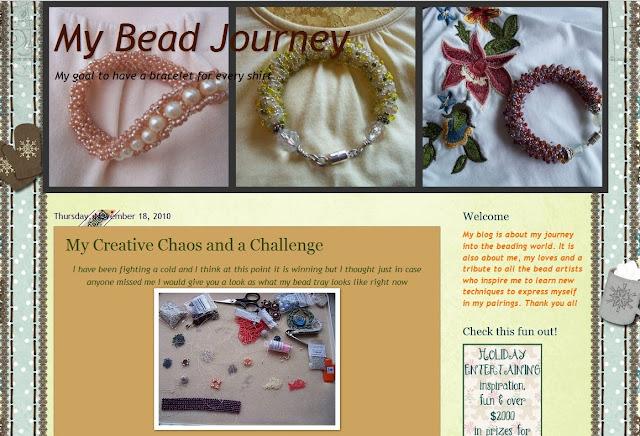 My Bead Journey Blog