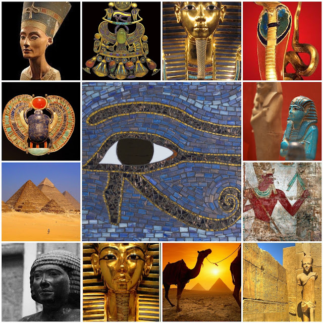 Egyptian Photo Mosaic