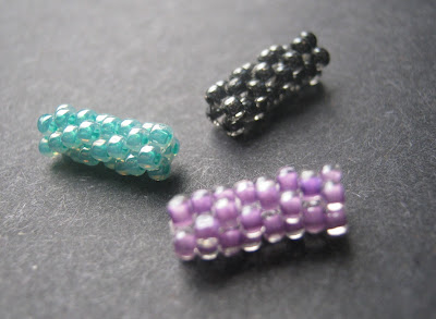 Peyote Stitch Beaded Beads