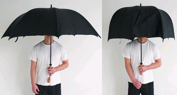 Guarda chuva educado
