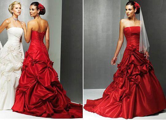 Vermelho no Casamento