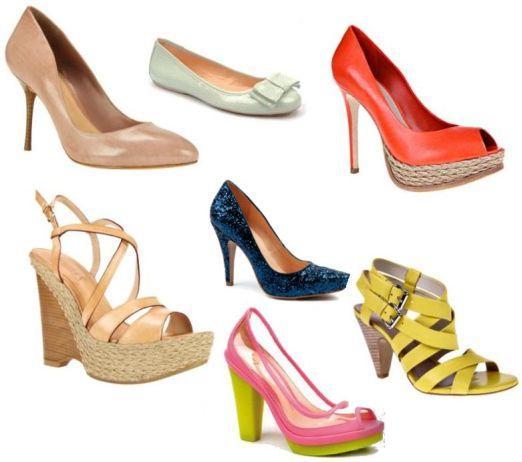 sapatos verão 2011