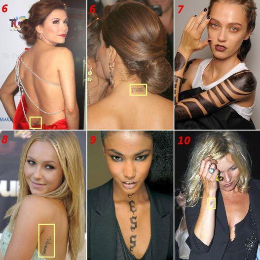 Tatuagens de Celebridades
