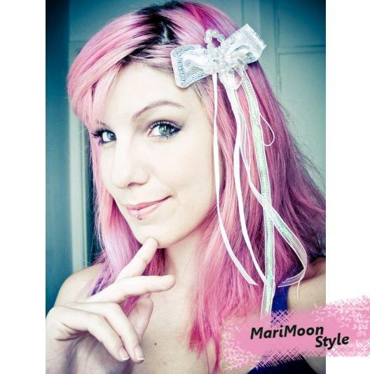Criatividade dos cabelos da MariMoon