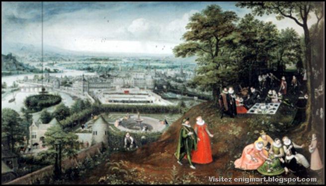 Paysage printanier, Lucas Van Valckenborch, 1587, Vienne