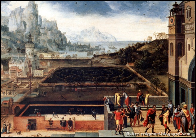 Histoire de David et Bethsabée, Henri Met de Bles, 1540