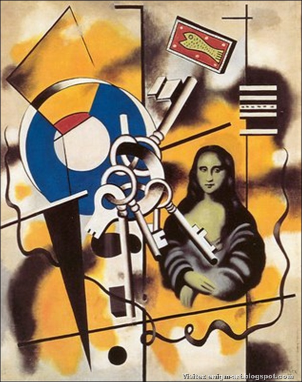 Fernand Leger, Mona Lisa with Keys, 1930