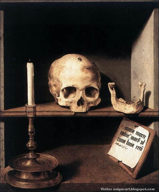 Barthel Bruyn, Vanité, 1493-1495