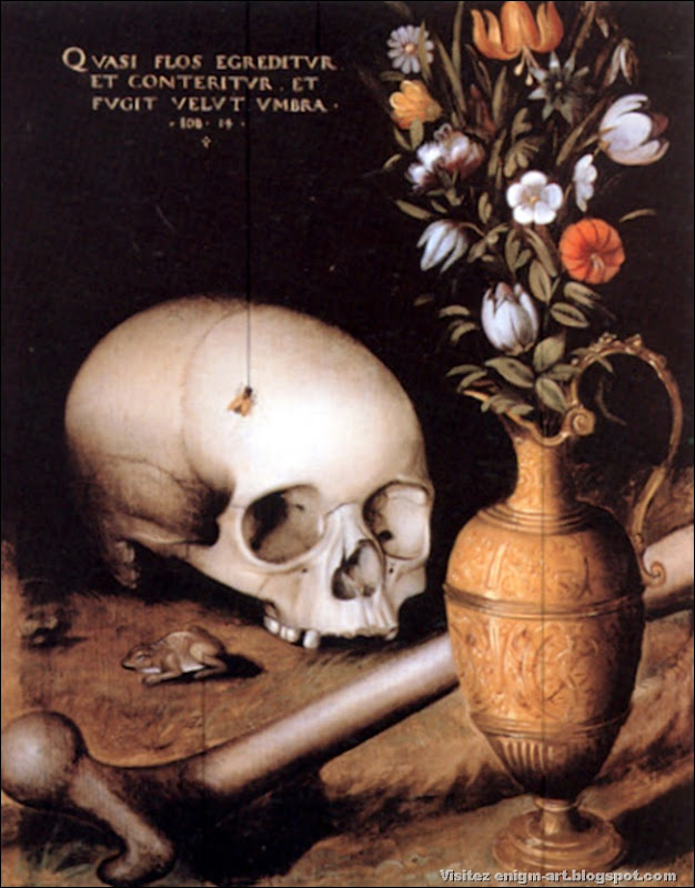 Peintre Allemand, Vanitas, 1600