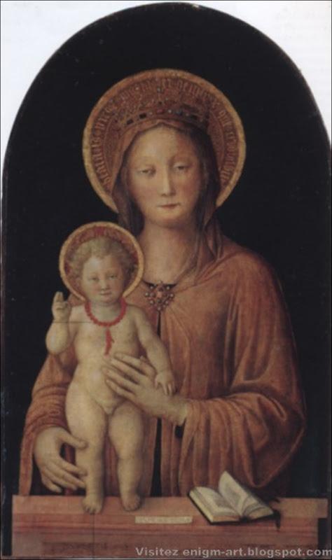 Jacopo Bellini, Madonne avec l'enfant, 1450