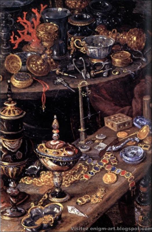 Jan Bruegel le Vieux, Allégorie du feu, 1608