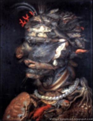 Giuseppe Arcimboldo, L'eau, 1566