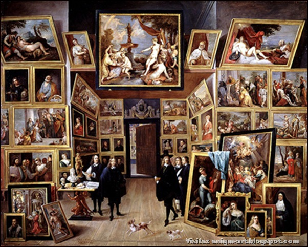 David Teniers, galerie de l'Archiduc Leopold Wilhelm, 1647