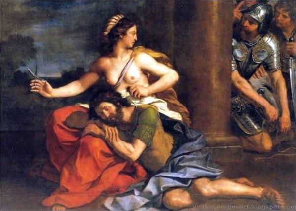 Le Guerchin, Samson et Dalila