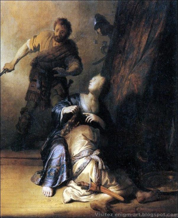Gustave Moreau, Samson et Dalila
