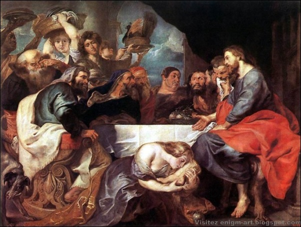 Rubens, Le Christ dans la maison de Simon, 1618-20