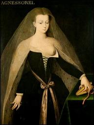 Ecole de Jean Fouquet, Agnes Sorel,