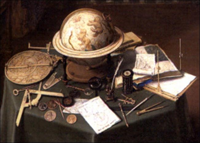 Détai, Anonyme Flamand, Allégorie de l'art et de la science, 1622-1628